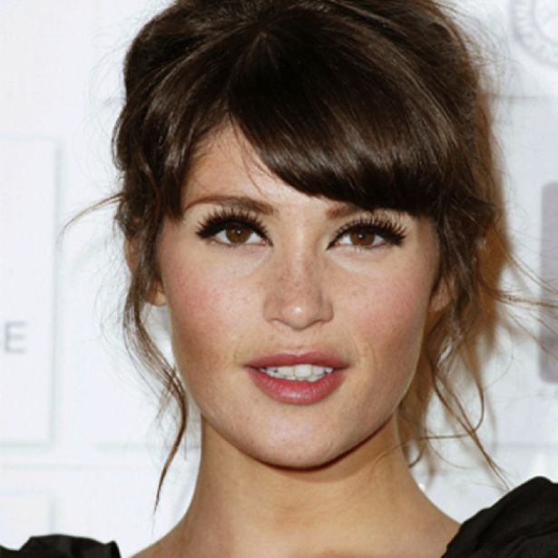 bangs short hair styles gemma arterton hair and make up fringes up do and 5049 | dc5049cf07d4cdf1a6598d267c357b69