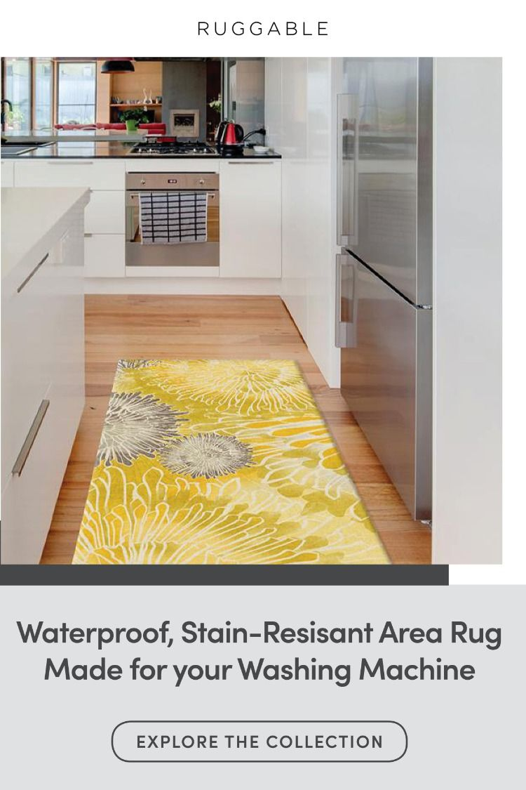 Waterproof Stain Resistant Area Rug Made For Your Washing