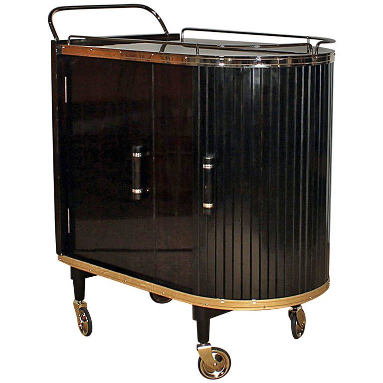 French Dry Bar Cart From A Unique Collection Of Antique And Modern Bars At
