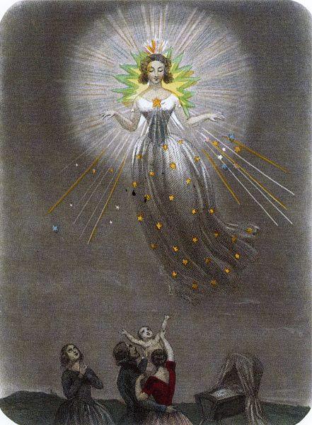 J.J. Grandville 1803-1847, A Bonne Etoile.