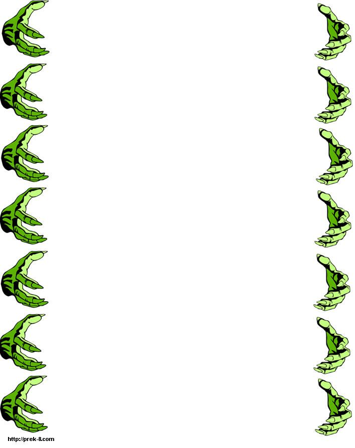Green Free Printable Latter Borders Design 2014 Sadiakomal  Printable Bordered Paper Designs Free