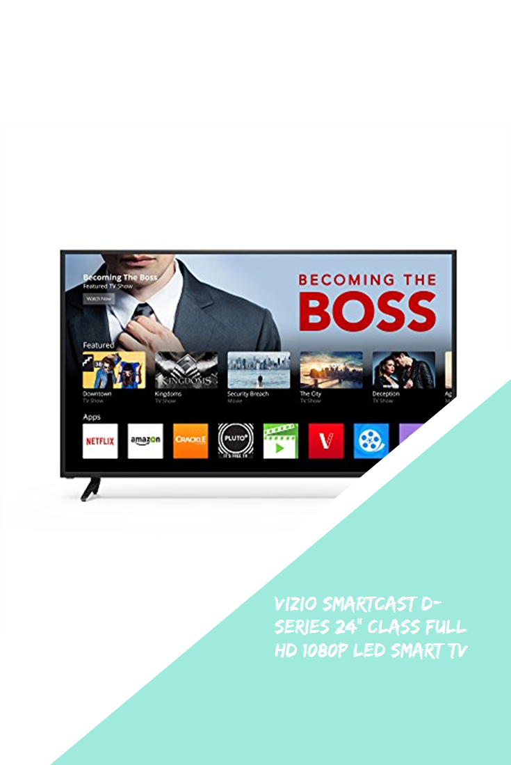 "VIZIO SmartCast Dseries 24"" Class Full HD 1080p LED Smart"