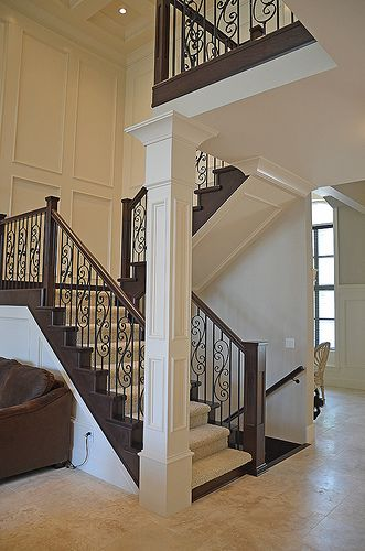 Best Staircase Newel Posts In Open Concept Staircase Home 400 x 300