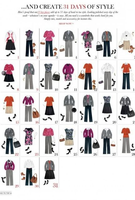 What Bridget Wore: Building A Business Casual Wardrobe Part II ...