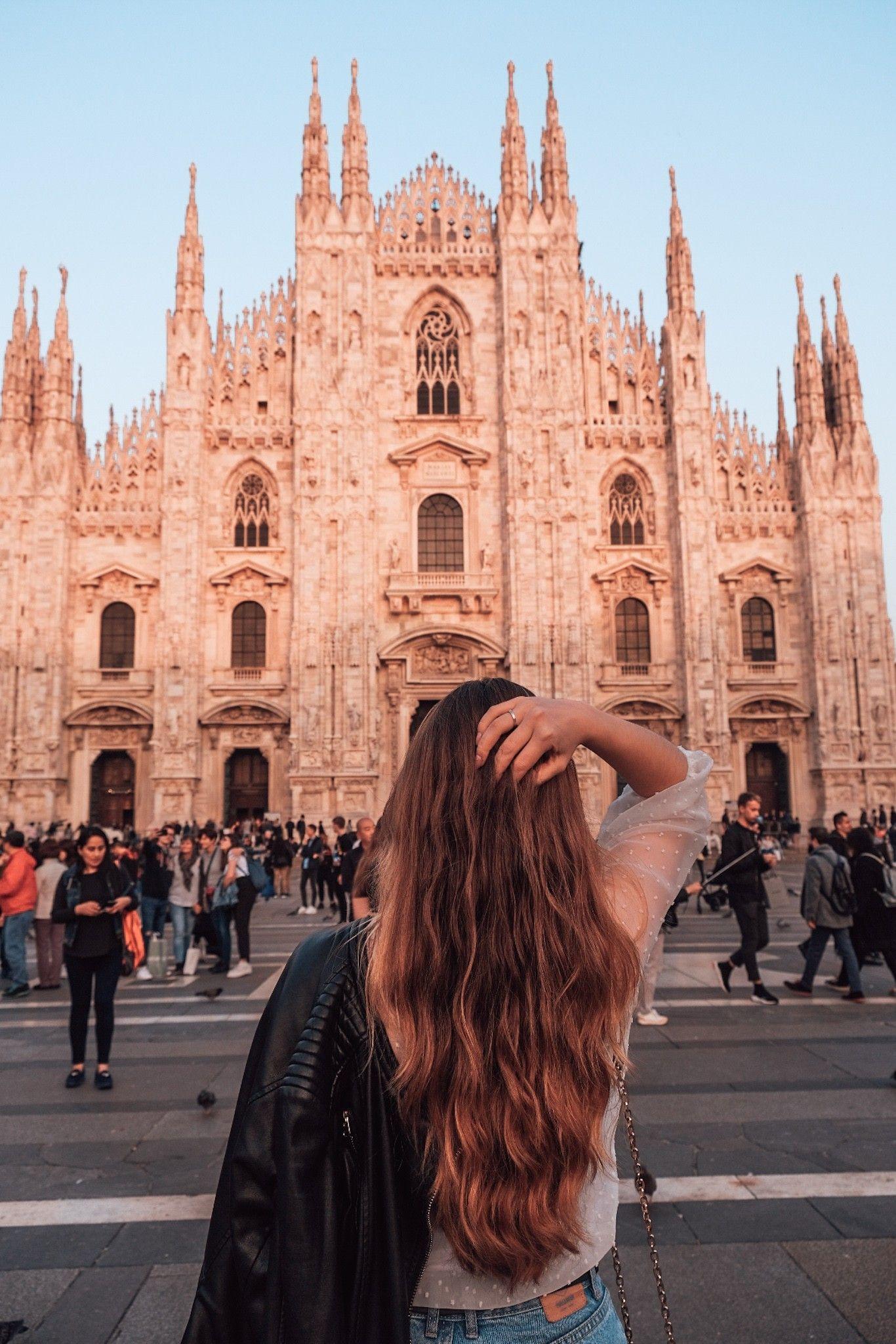 Vanessa Dias on Instagram : @ vanessadiasss Italy, Milano Duomo #milano #duomomilano #milan #milanphotos #milanophotography