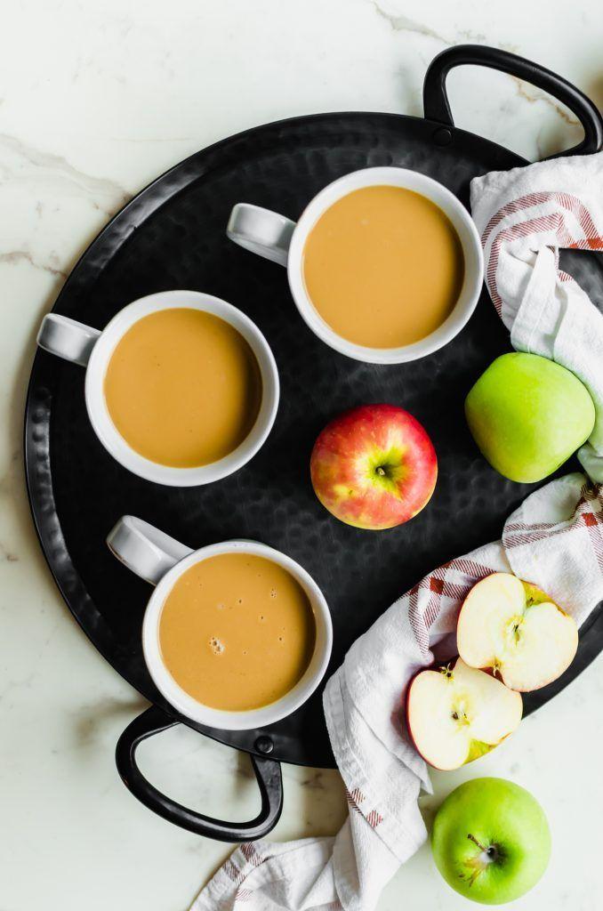 Dit recept voor gezouten karamelappelcider is een gezellig recept voor herfstdranken dat ik  Dit recept voor gezouten karamelappelcider is een gezellig recept voor herfst...