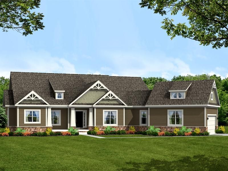 Larkspur By Schumacher Homes House Plans House Styles House Design