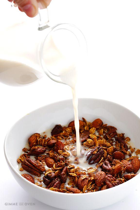 Chai-Spiced Granola   gimmesomeoven.com