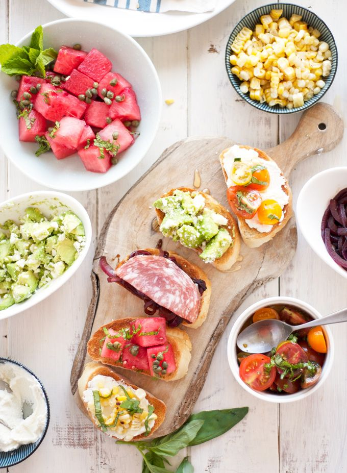 How to Create Your Own Crostini Bar Recipe