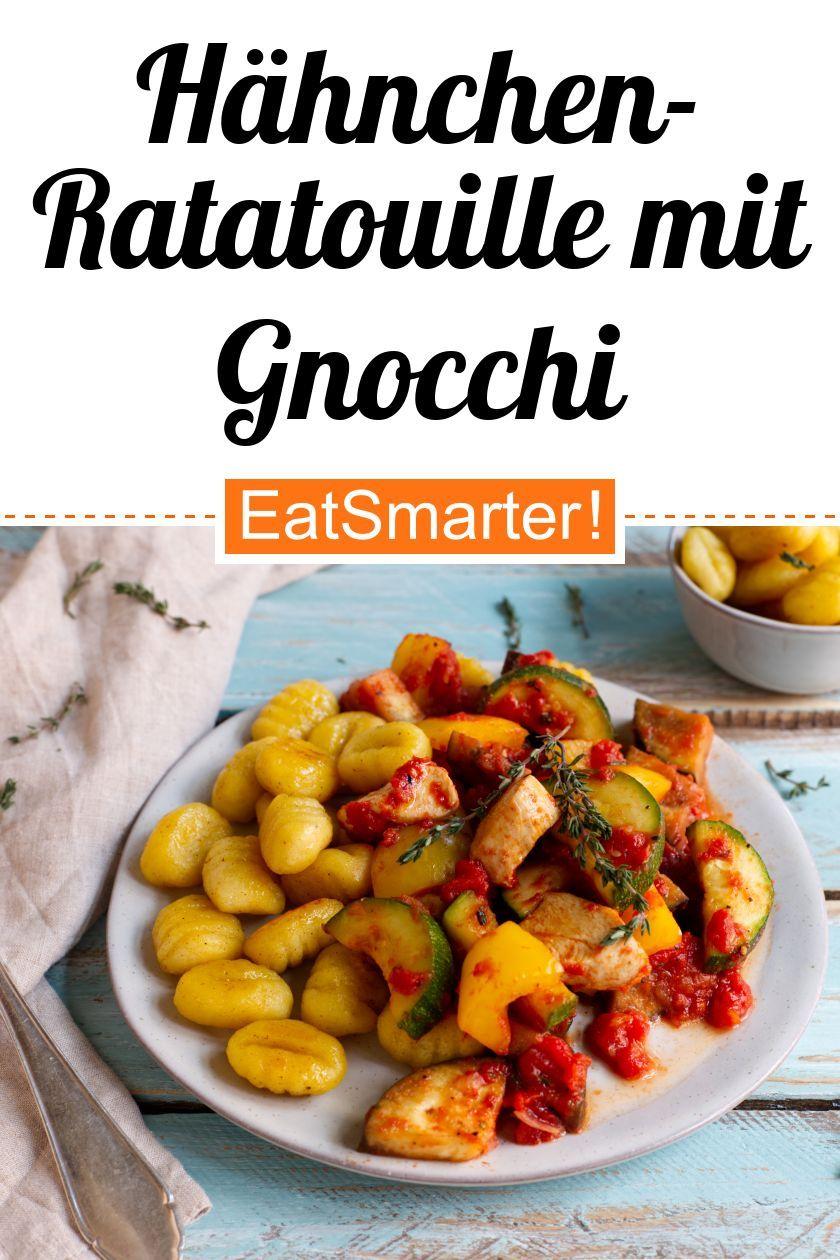 Hähnchen-Ratatouille mit Gnocchi