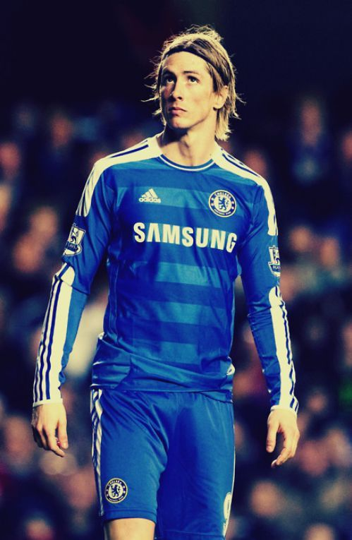 Fernando Torres. The only good thing about Chelsea's football club.