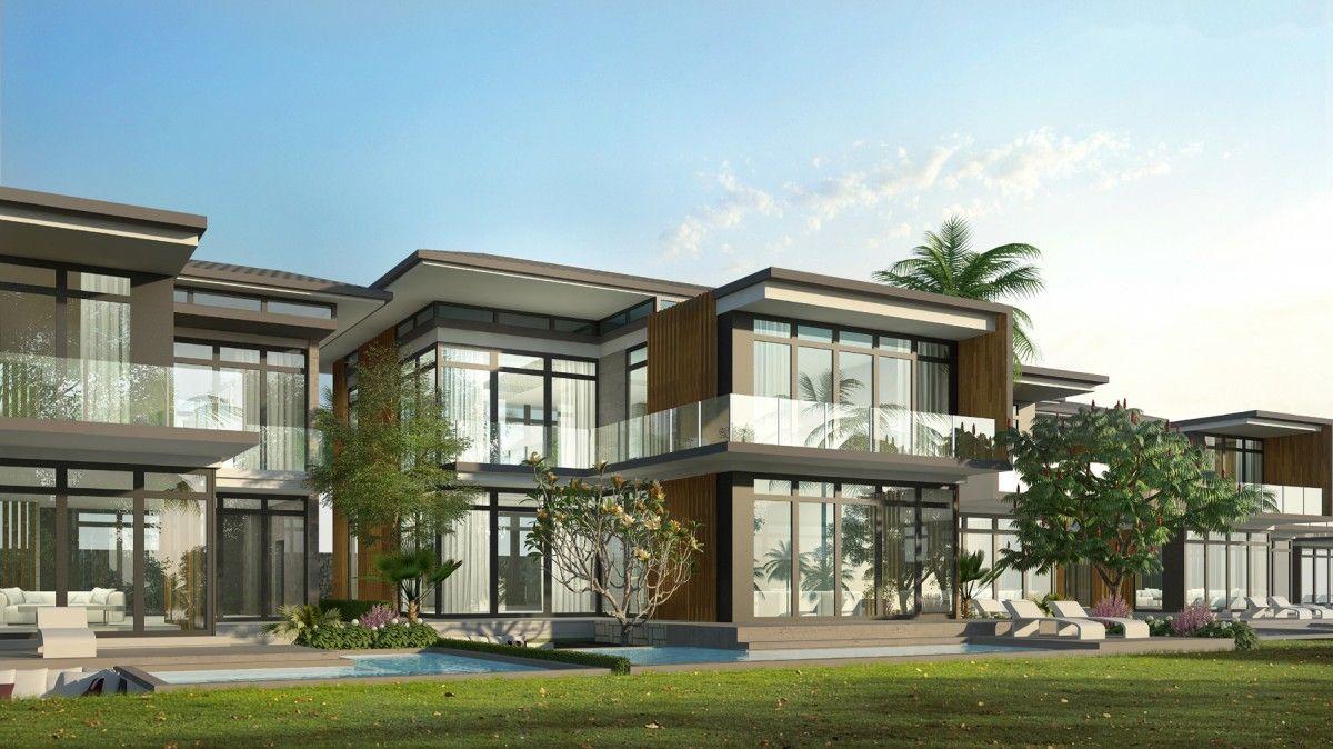Biệt thự mẫu Vanesea Field Luxury Resort hướng biển   Biệt thự