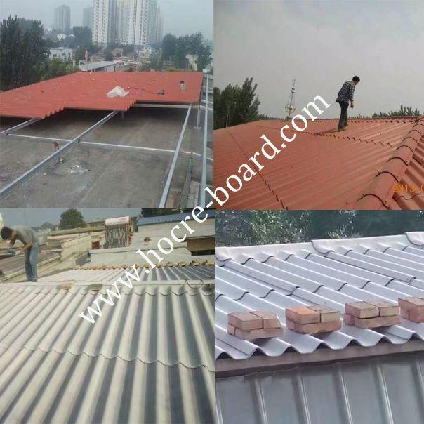 Fiber Cement Corrugated Sheet Project
