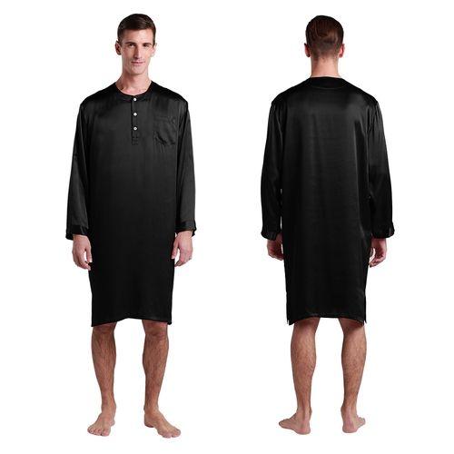 500-black-22-momme-mens-silk-nightshirt.jpg (500×500)