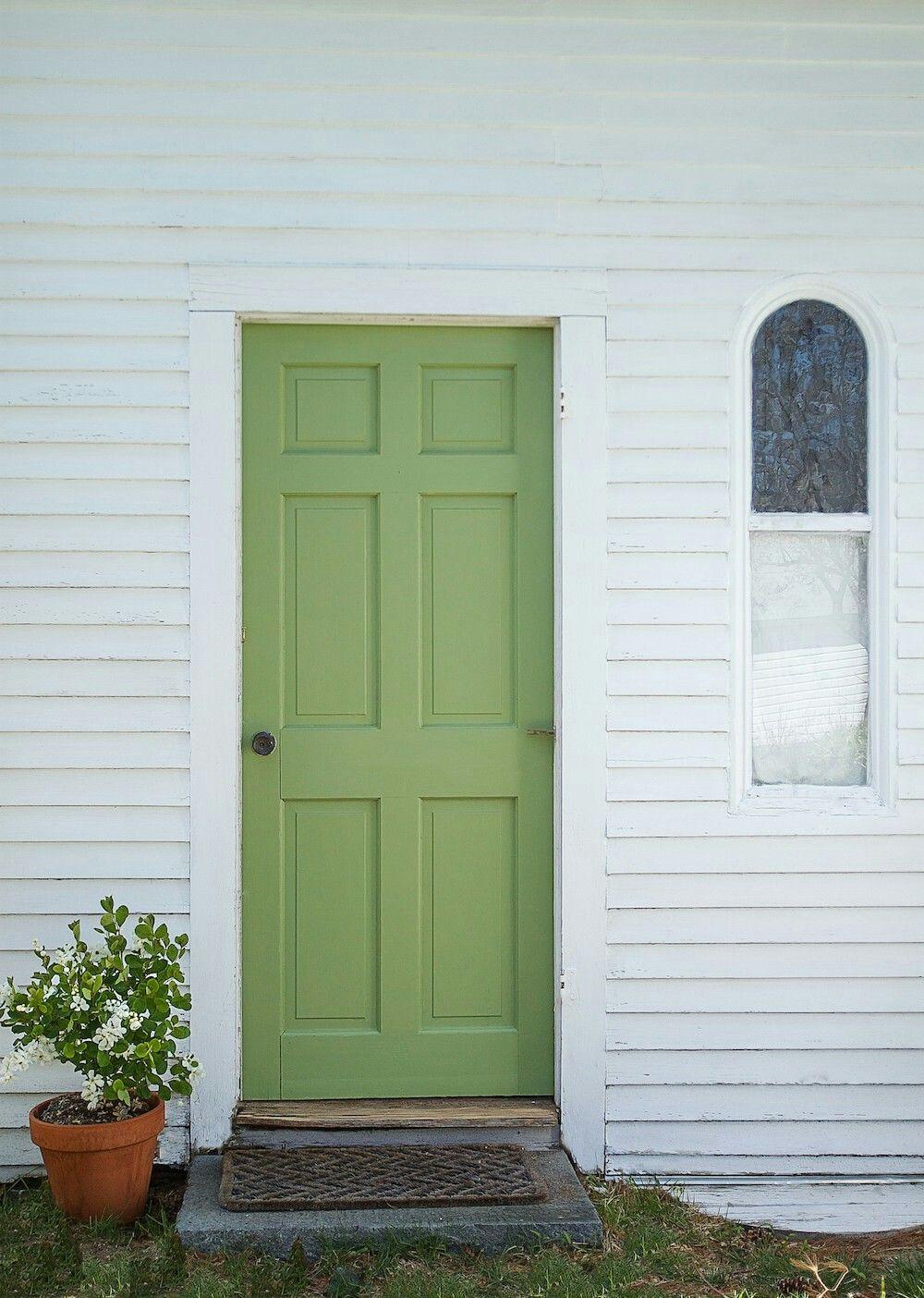 Farrow ball yeabridge green door apple green green - Farrow and ball exterior door paint ...