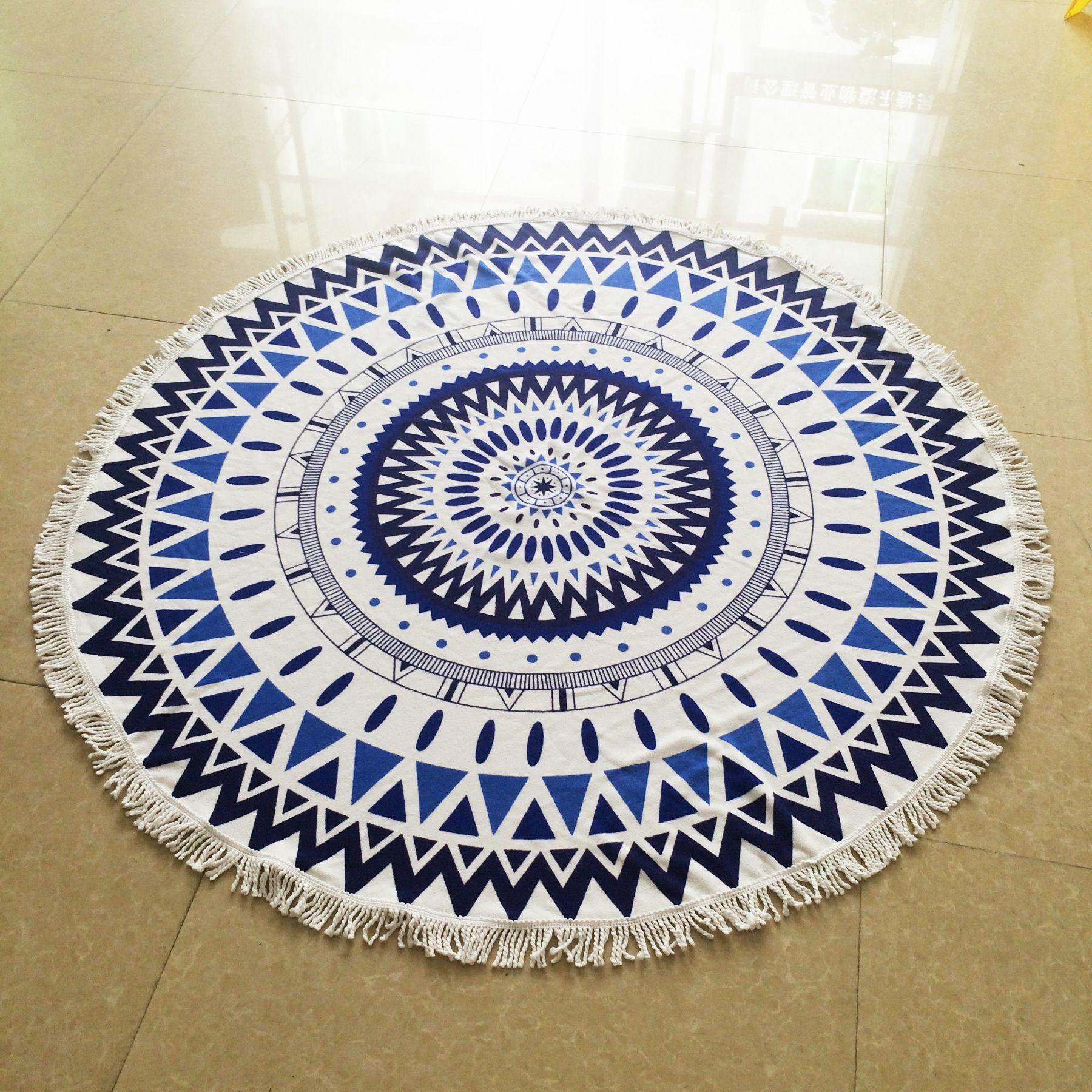 Free shipping buy best cm tassel geometric pattern bath towel