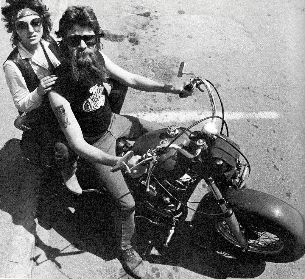 Biker T-Shirt Cafe Racer Motorcycle 1970 Chopper Bobber USA Motorrad