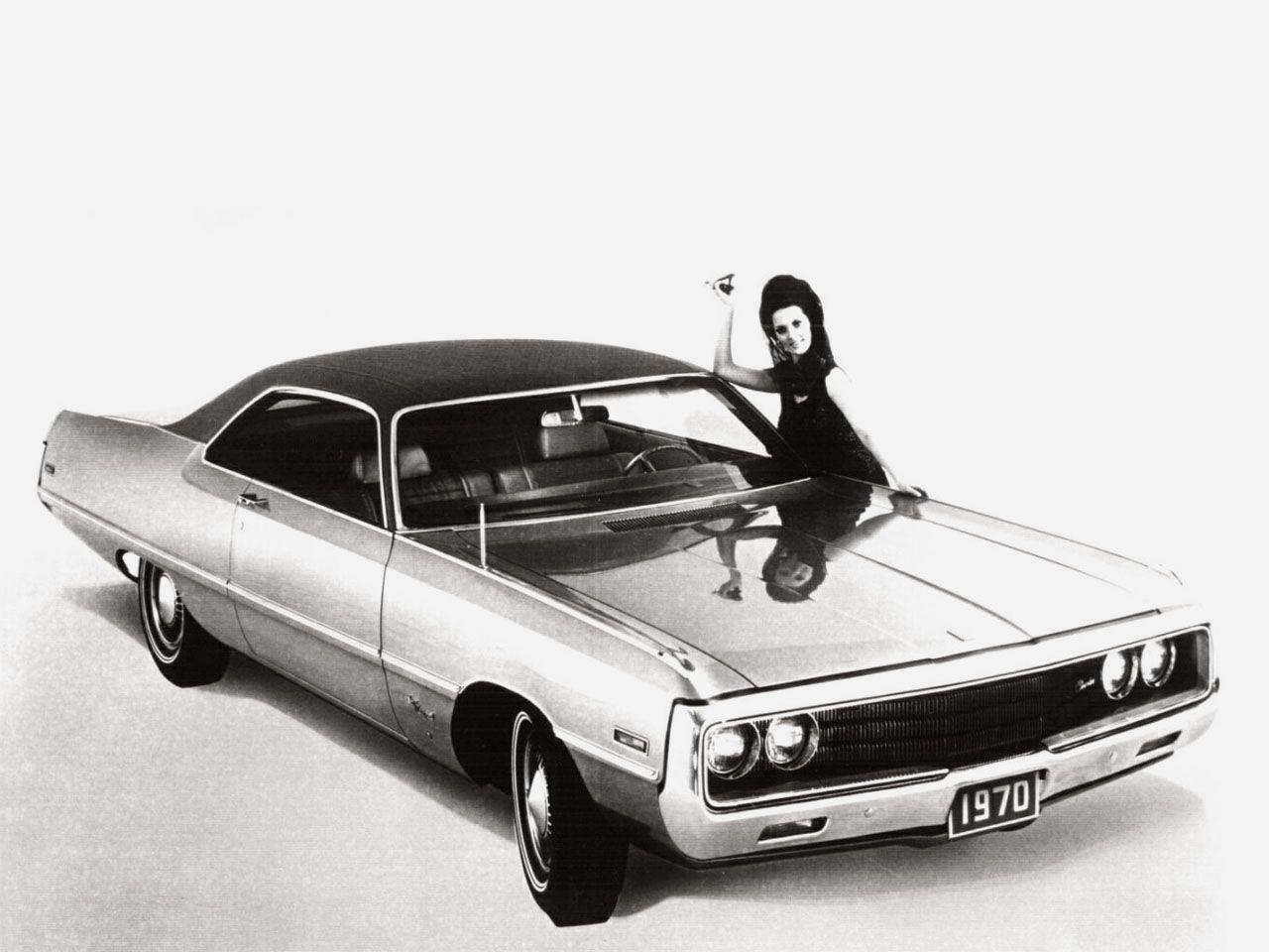 Chrysler newport cordoba 1970 mad 4 wheels
