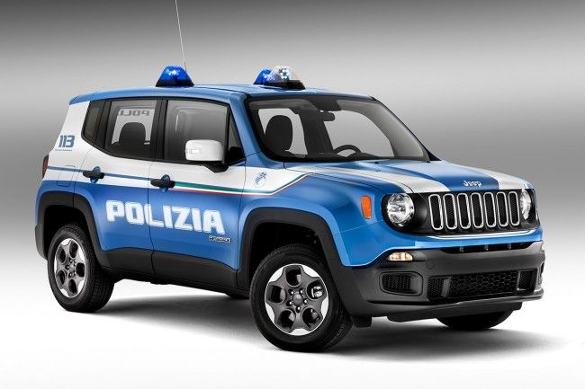 Alfa Romeo Giulia Giulietta E Jeep Renegade Della Polizia 2