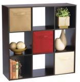$41.50 right now For Living Dark Brown Cube Shelves | Canadian Tire