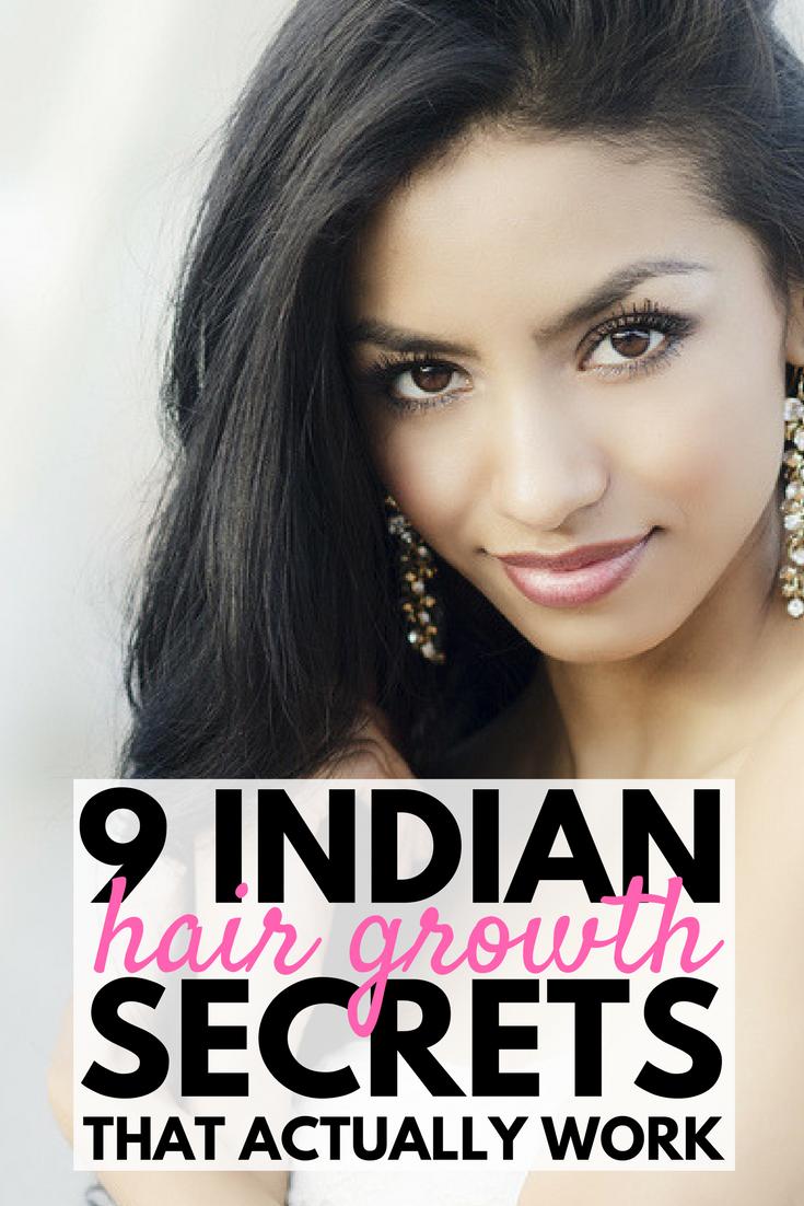 Indian Hair Growth Secrets Healthy Natural Hair Growth