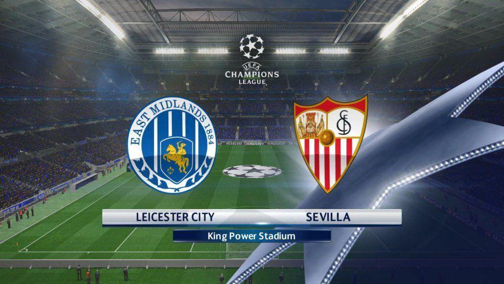 Leicester City vs Sevilla en Vivo Champions League 2017