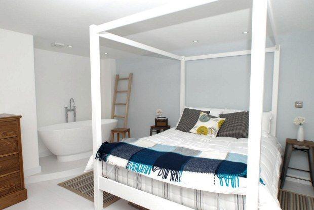 bath in bedroom - Google Search