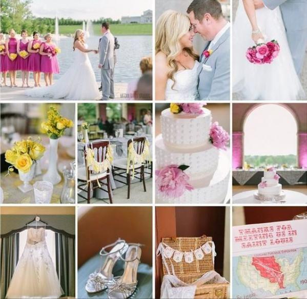 Real Wedding Of Sara And Adam At Grand Basin And World's