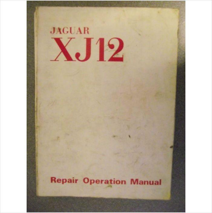 Jaguar Xj12 Workshop Manual 1972 E172  1 On Ebid United Kingdom