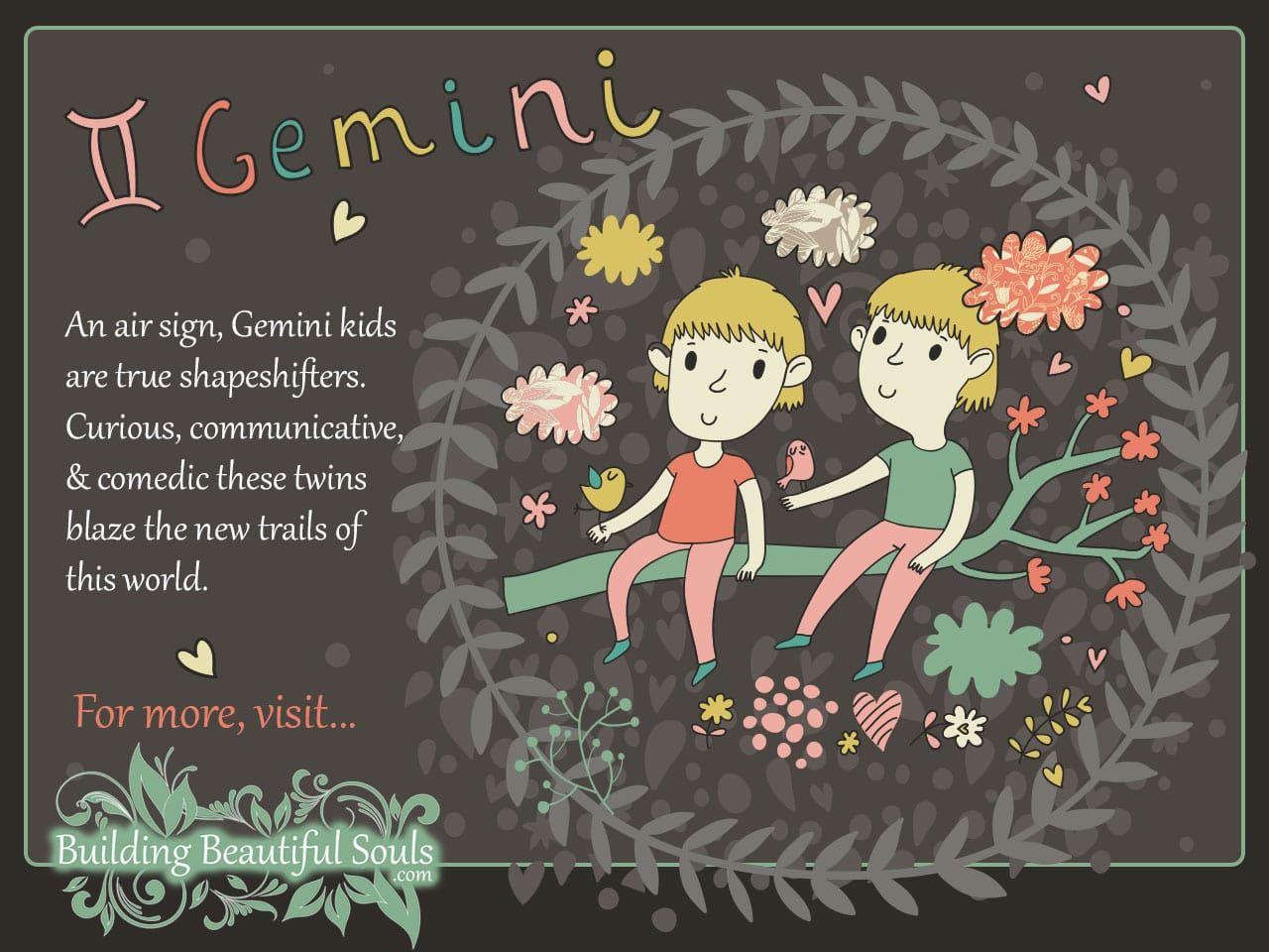 The Gemini Child Gemini Girl & Boy Traits & Personality