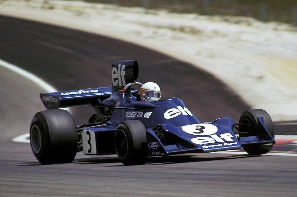 Jody Scheckter (ZAF), Tyrrell 007 Dijon-Prenois, 1974.