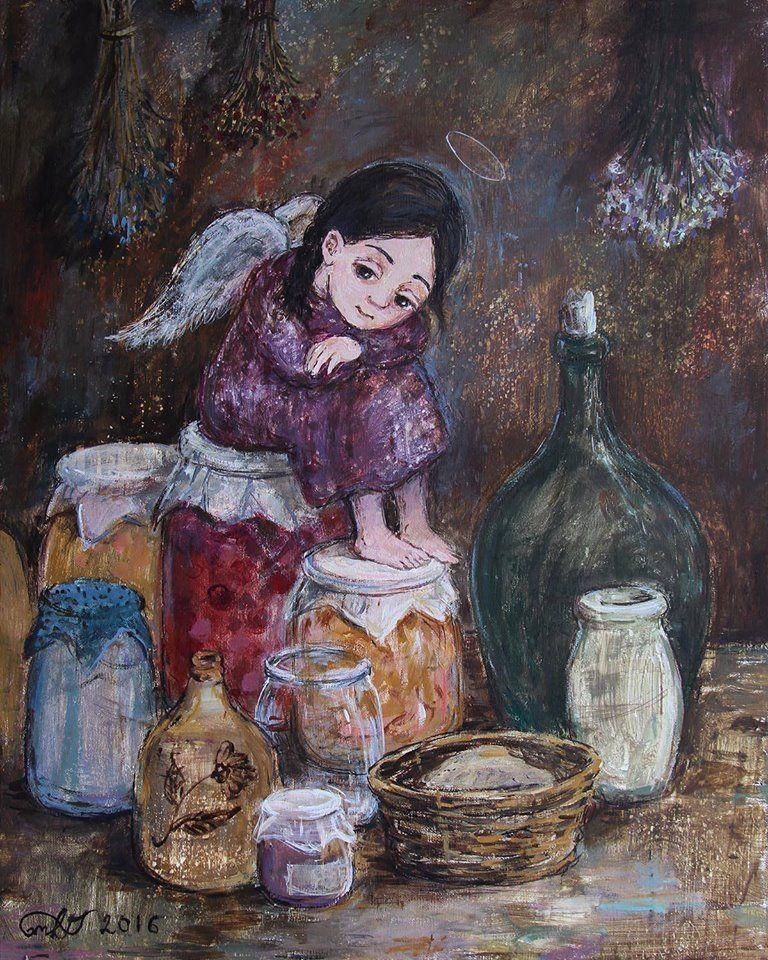 Nino Chakvetadze's Art   Art, Painting, Illustration art