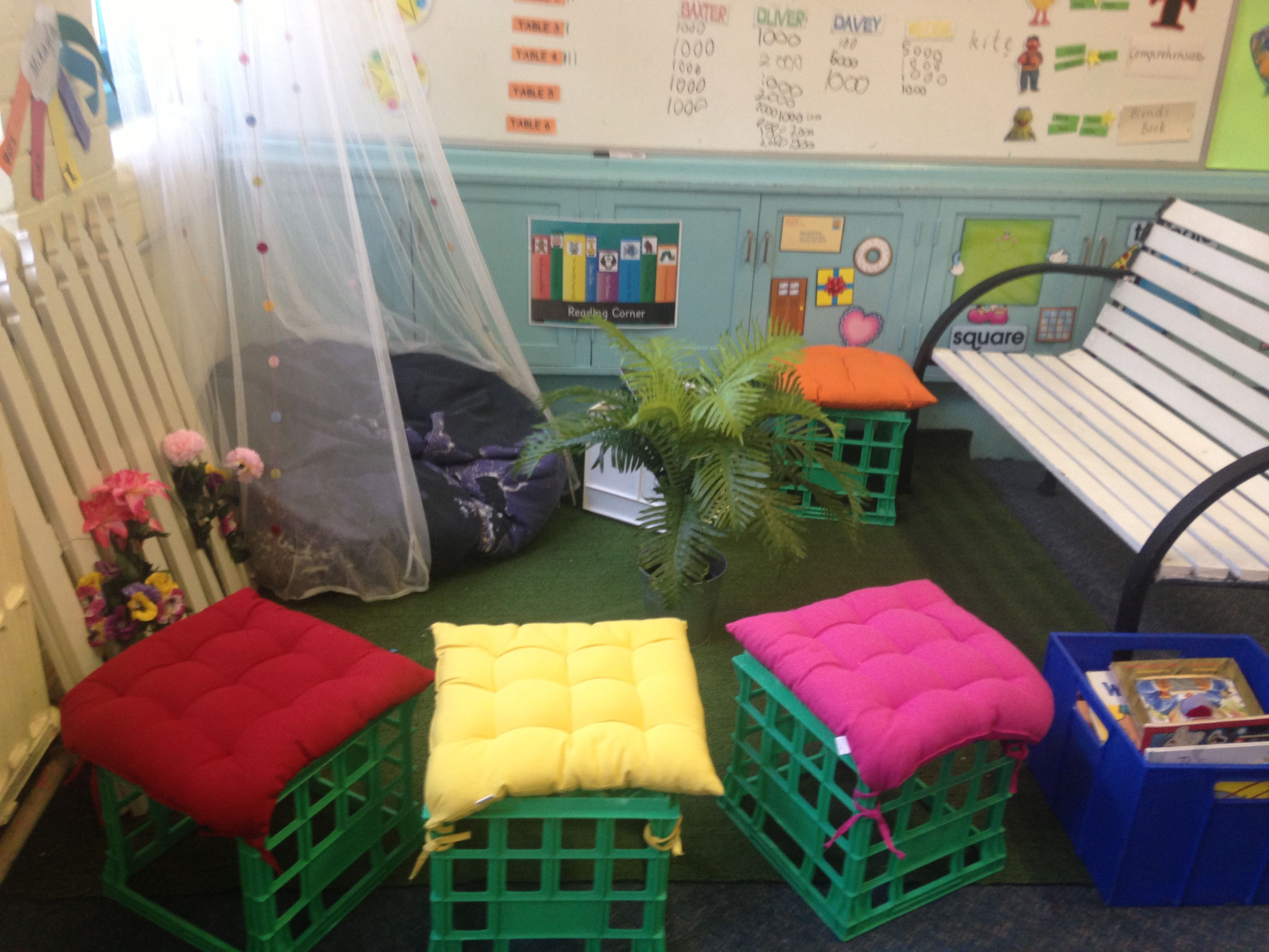 Classroom Reading Corner Garden