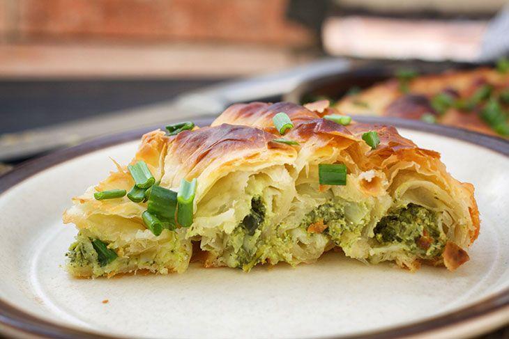 Greek Spinach Pie | Vegan Spanakopita | Recipe | Greek ...