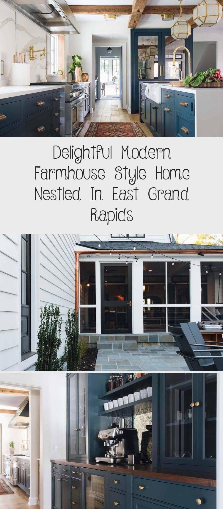 Delightful Modern Farmhouse Style Home Nestled In East Grand Rapids Erin S Blog In 2020 Modern Farmhouse Style Farmhouse Style House Modern Farmhouse
