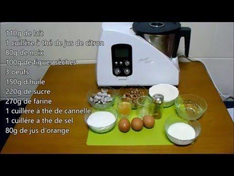 Gâteau à la noix et aux figues sèches- Monsieur Cuisine #recettemonsieurcuisinesilvercrest Gâteau à la noix et aux figues sèches- Monsieur Cuisine - YouTube #recettemonsieurcuisinesilvercrest