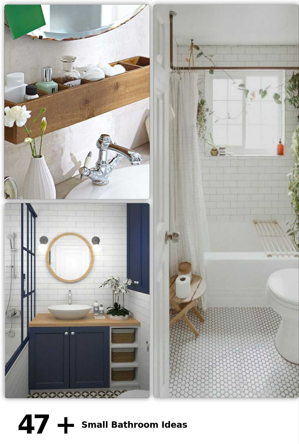 47 Small Bathroom Ideas In 2020 Bathroom Decor Amazing Bathrooms Diy Bathroom