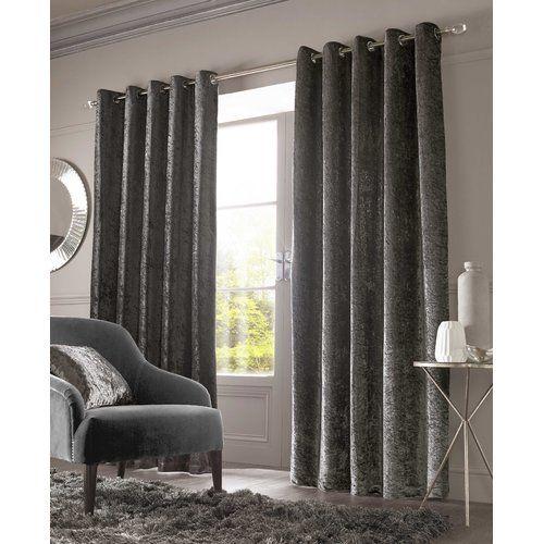 Rosdorf Park Calhoun Eyelet Room Darkening Curtains
