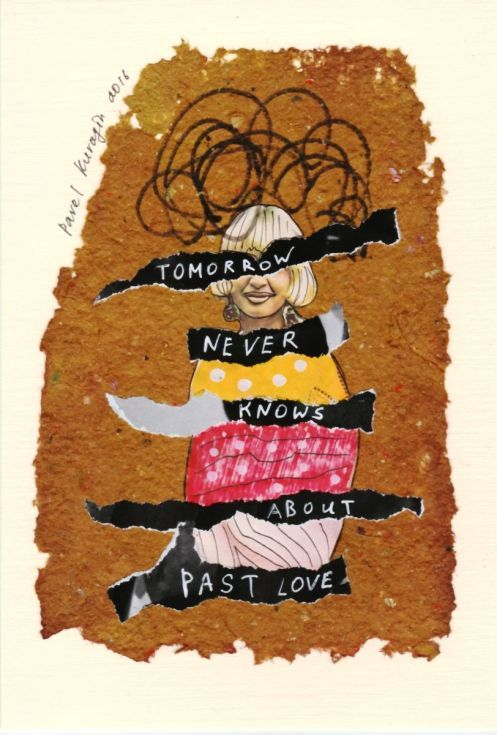 Buy Tomorrow never knows about past love, Collage by Pavel Kuragin on Artfinder…