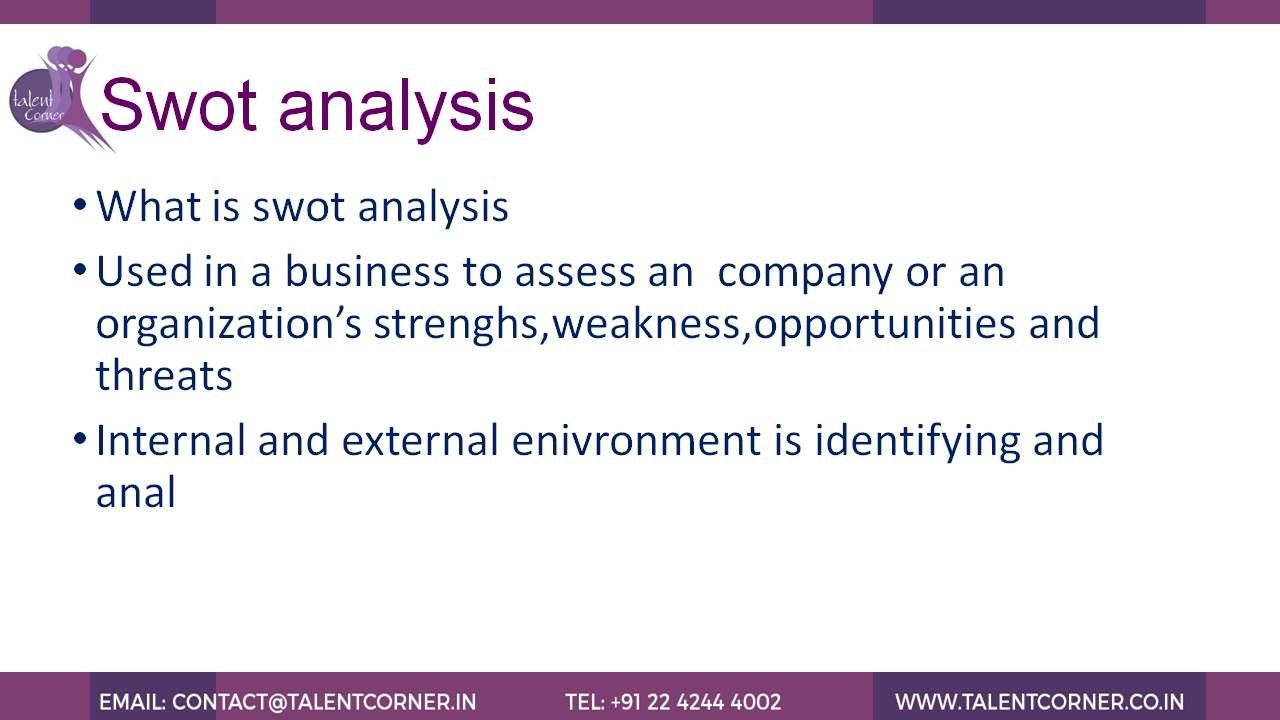 Pin By Mini Shah On  Tips For Business Swot Analysis