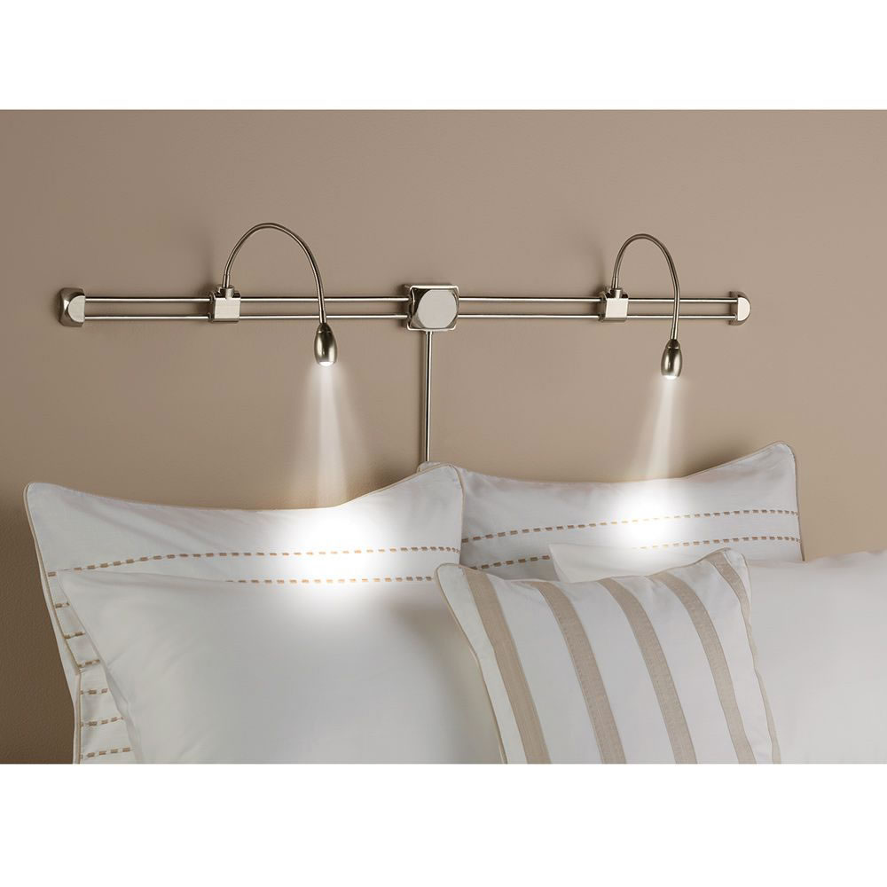 The Reader's Bed Lamp Hammacher Schlemmer Bed lamp