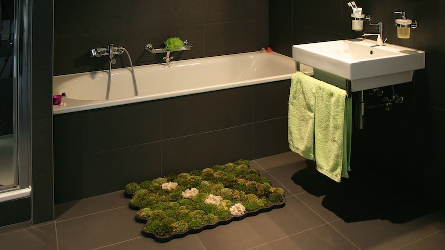 Homeli Living Moss Bath Mat By Nguyen La Chanh From Moss