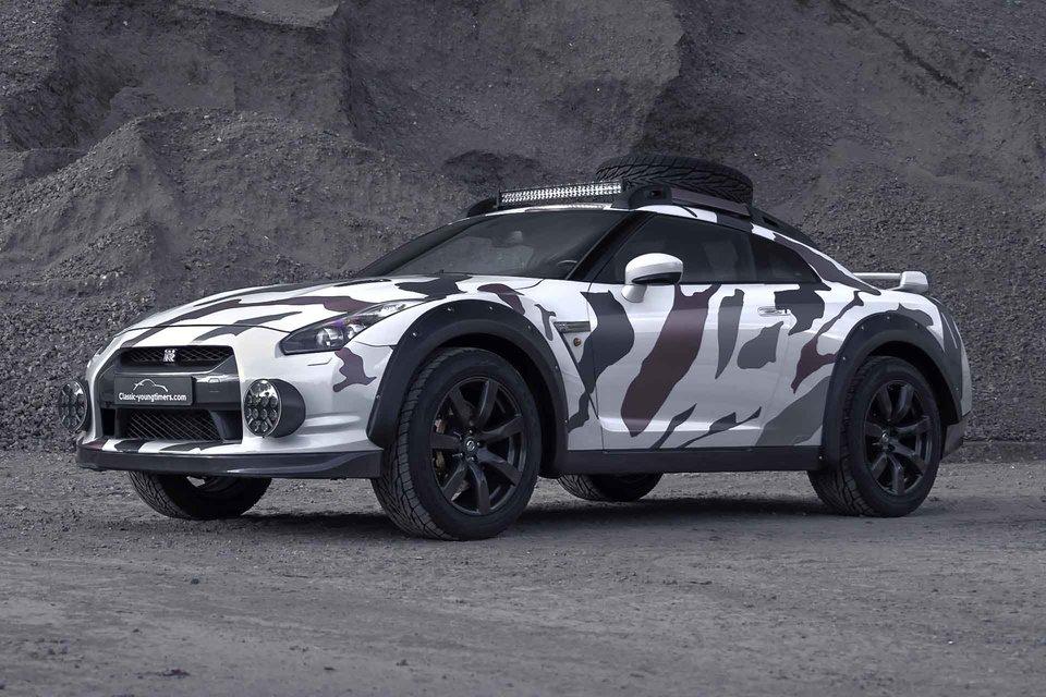 Nissan GT-R Godzilla 2.0 Offroad Coupe