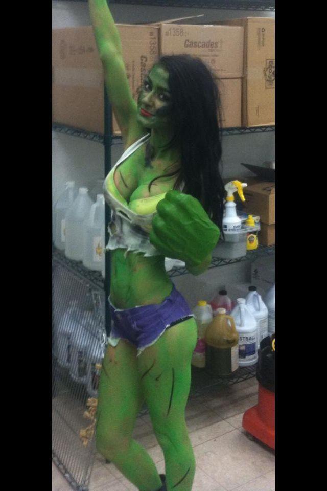 Vestito da hulk fai da te