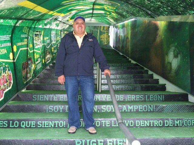 Estadio León.