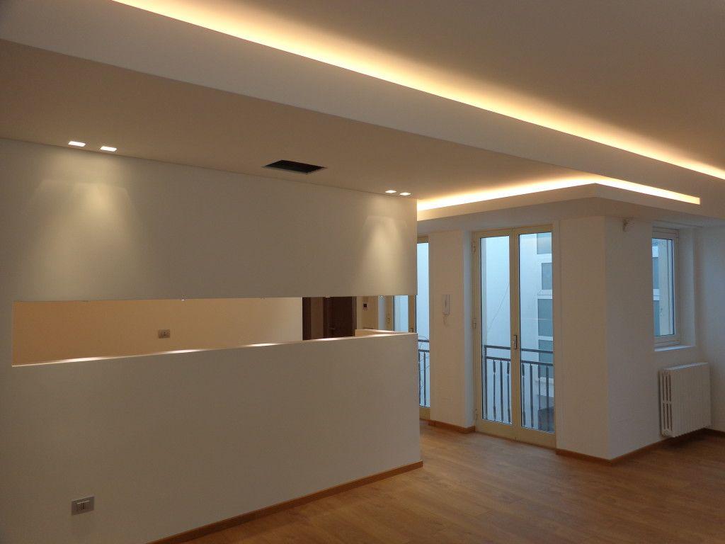 Sweet Home 3D Controsoffitto total white | illuminazione controsoffitto
