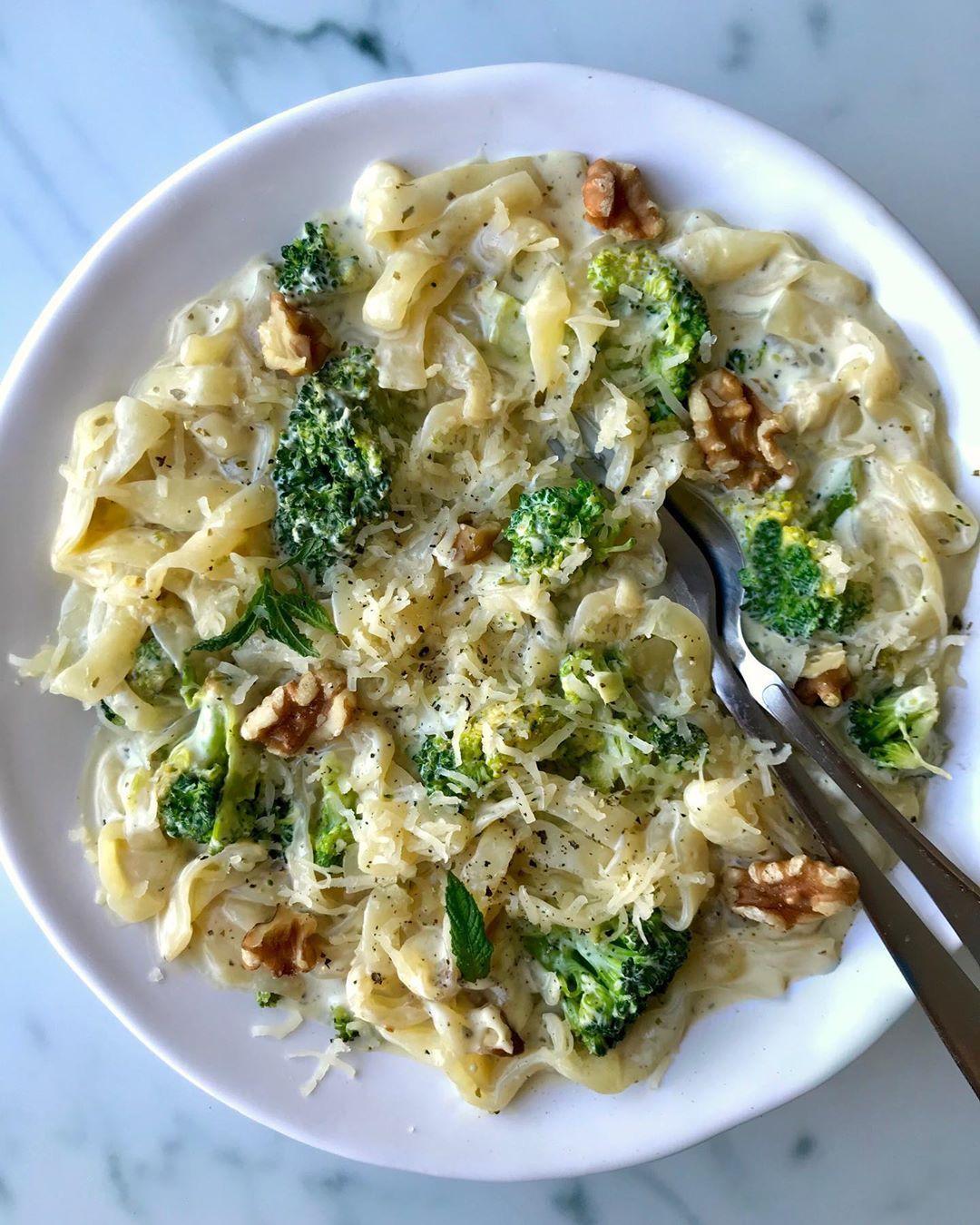 Kramig Broccoli Adelostpasta Blev Sugen Pa Pasta Till