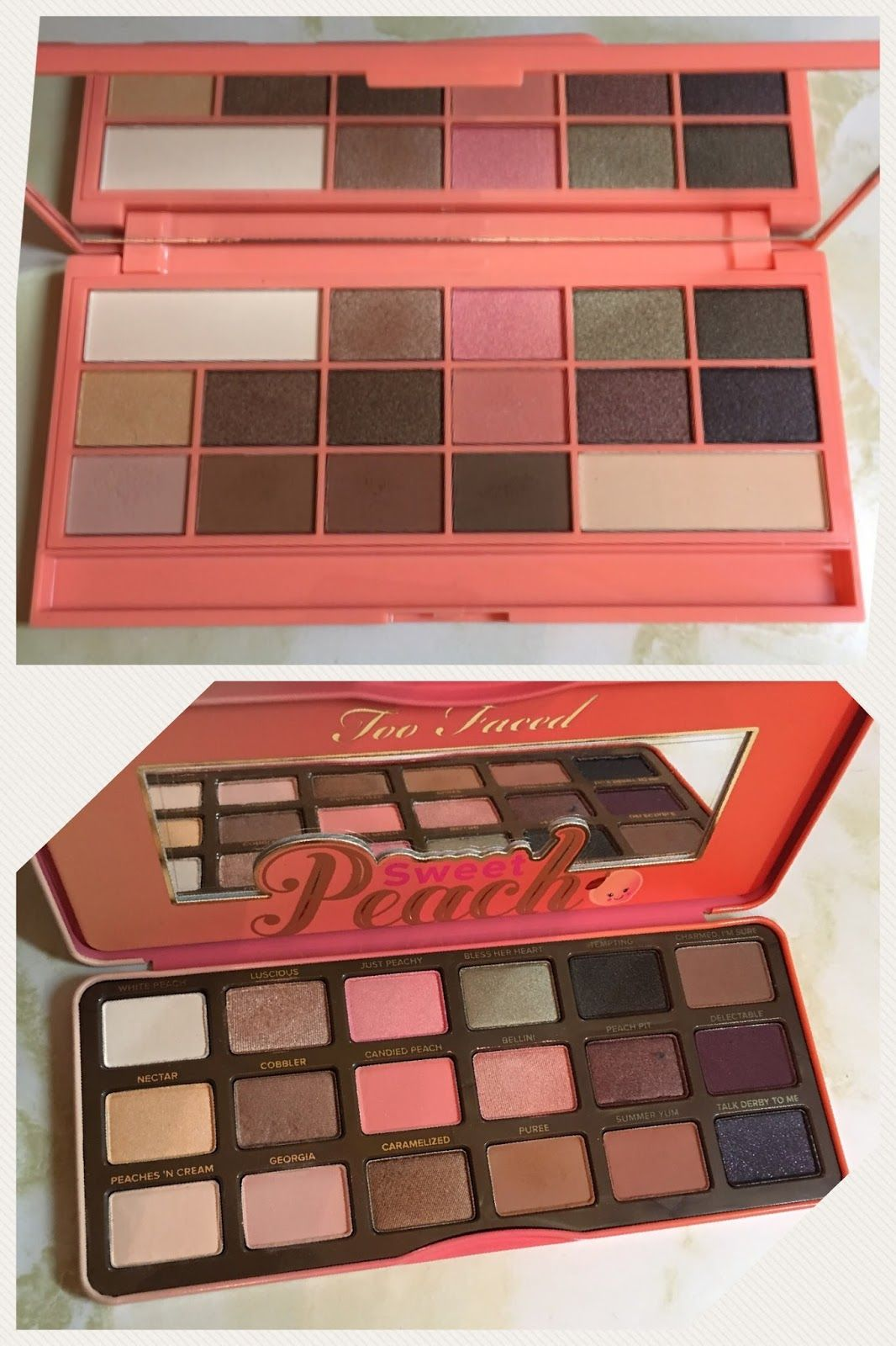 Too Faced Peach Palette Dupe Makeup Revolution Chocolate And Peaches