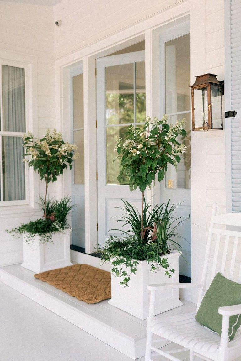 100 Brilliant Front Door Decorating Ideas Porch Decorating Front Porch Decorating Craftsman Style Front Doors
