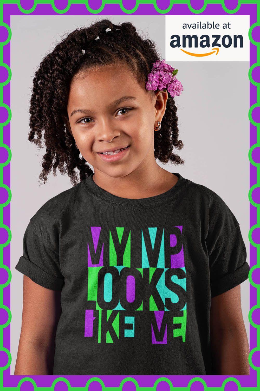 My Vp Looks Like Me Girls Role Model Vice President Of Us T Shirts For Women Role Models Women